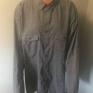 👔Alfani brand Men's long sleeve dress shirt 👔